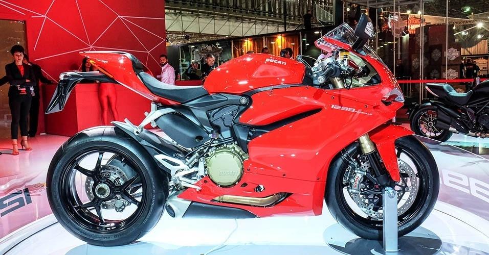 Ducati Panigale 1299 no Salão Duas Rodas 2015