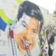 Silvio Santos ganha homenagem em mural gigante de 8 metros de altura em SP - Reprodução/SBT