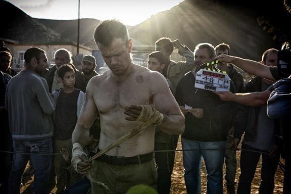 Matt Damon como Bourne no novo filme da franquia