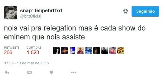 Tweet BRTT