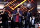 Gusttavo Lima participa do programa de Fátima cantando Que Pena Que Acabou - Reprodução/TV Globo