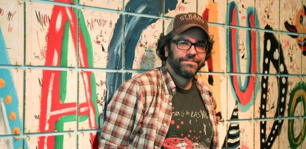 """O quadrinista argentino Liniers, autor da tirinha """"Macanudo"""", que faz sucesso no mundo todo. ?Não é que eu seja um otimista, mas eu tenho que ser?, diz."""