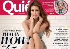 """Thalia é criticada por """"excesso de photoshop"""" em capa de revista - Reprodução/Instagram/thalia"""
