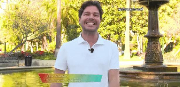 Erik Marmo muda foco de carreira e agora é apresentador fora do Brasil
