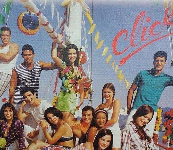 Gianecchini posta foto antiga com Ana Paula Arósio e Tais Araújo em capa de caderno