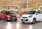Nissan March e Versa ganham câmbio CVT - Divulgação