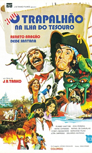 Apenas com Renato Aragão e Dedé Santana,