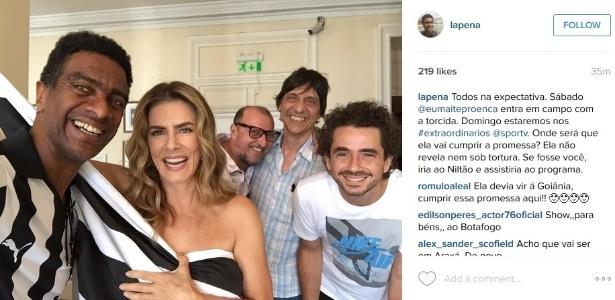 A atriz Maitê Proença e o humorista Hélio de La Peña entregarão as faixas