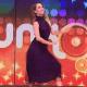 Na TV, Sandy dança funk e conta que pegou comida do chão durante gravidez - Reprodução/TV Globo
