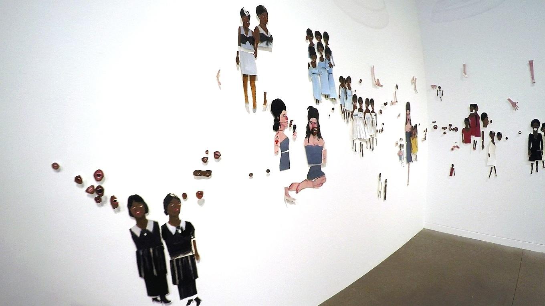 21.jul.2015 - Instalação na exposição