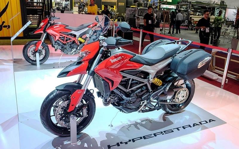 Ducati Hypertrada no Salão Duas Rodas 2015