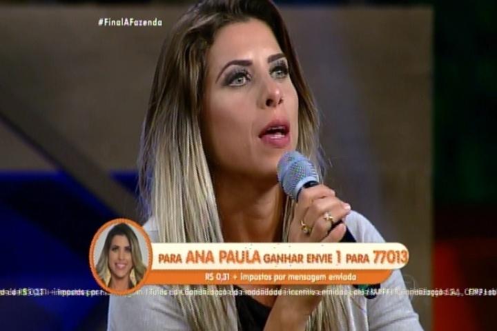 8.dez.2015 - Ana Paula Minerato responde por que foi tão subestimada durante