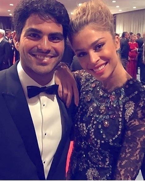 Grazi Massafera publica foto ao lado do namorado, Patrick Bulus, na premiação do Emmy Internacional