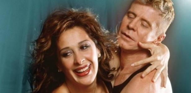 Claudia Raia e Miguel Falabella em imagem de divulgação da peça escrita por Mauro Rasi
