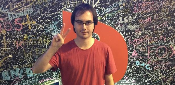 O brasileiro Keoma Pacheco, que ficou entre os oito melhores da Capcom Cup 2015