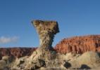 Parque argentino tem formações rochosas exóticas e cemitério de dinossauros
