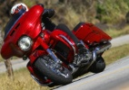 Harley Street Glide CVO é moto gigante e conectada de R$ 134.200 - Mario Villaescusa/Infomoto