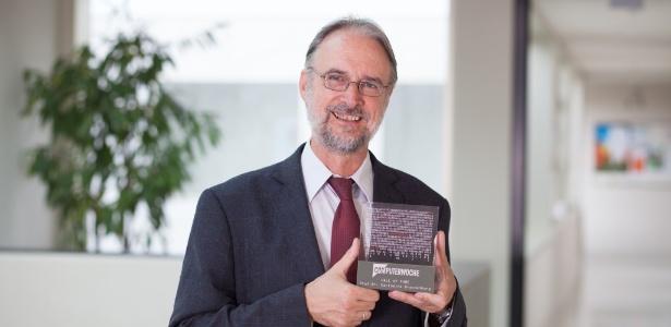 O pesquisador alemão Karlheinz Brandenburg, um dos criadores do MP3