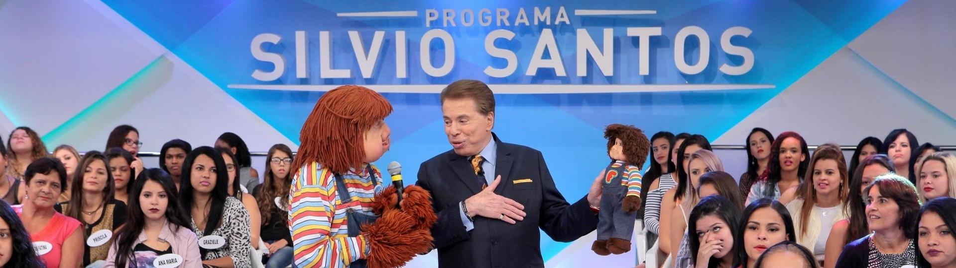 Silvio Santos recebe Fofão em seu programa no SBT, que irá ao ar no próximo domingo (5)