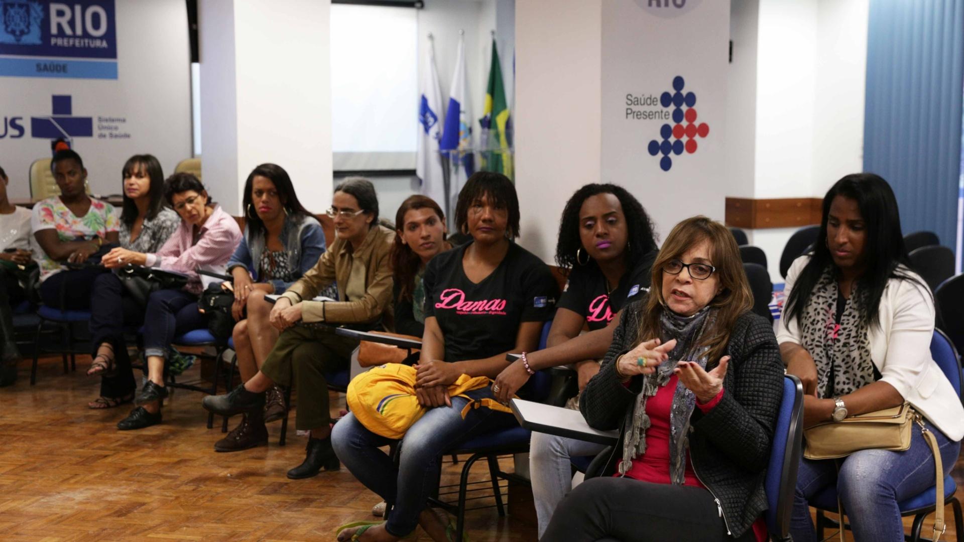 Gloria Perez tem debatido a questão da transexualidade com vários grupos e entidades ligadas a diversidade sexual