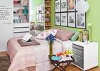 Paleta de cores bem equilibrada deixa canto de descanso mais acolhedor (Foto: Carlos Cubi/Revista Minha Casa)