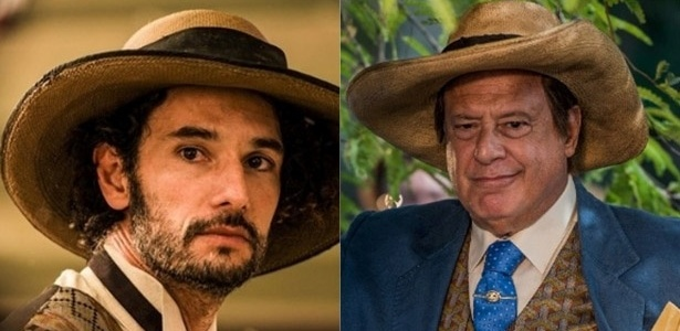 """Rodrigo Santoro e Antonio Fagundes como Afrânio de """"Velho Chico"""""""