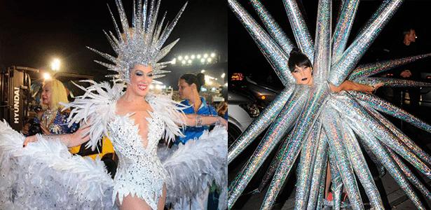 Cláudia Raia em desfile da Vila Matilde no Carnaval 2016