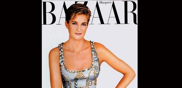 Vestido usado por Lady Di nesta foto foi vendido por US$200 mil, o equivalente a cerca de R$ 619 mil