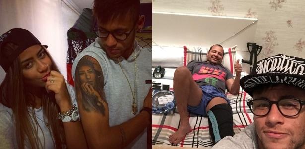 Após ser suspenso, Neymar curte férias no litoral paulista