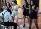 Noiva faz apresentação sexy durante festa de casamento (Foto: Reprodução/Youtube)