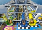 Maior transatlântico do mundo terá parque aquático com toboáguas gigantes - Divulgação/Royal Caribbean