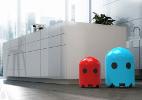 Além da área de serviço: lixeira Pac-Man decora e facilita remoção do lixo (Foto: Divulgação)