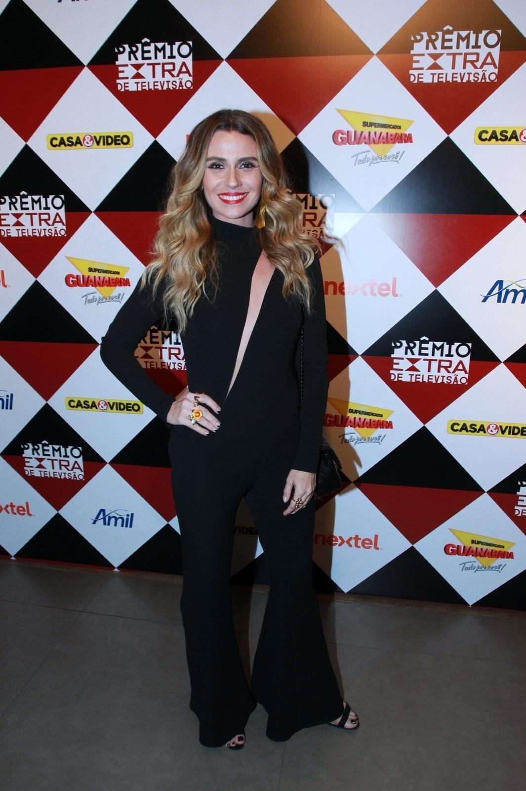 17.nov.2015 - Giovanna Antonelli na 17ª edição do Prêmio Extra de Televisão, no Rio de Janeiro