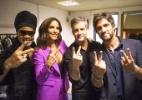 "Globo começa a gravar ""The Voice Kids"" e reúne técnicos pela primeira vez - Renato Rocha Miranda/TV Globo"
