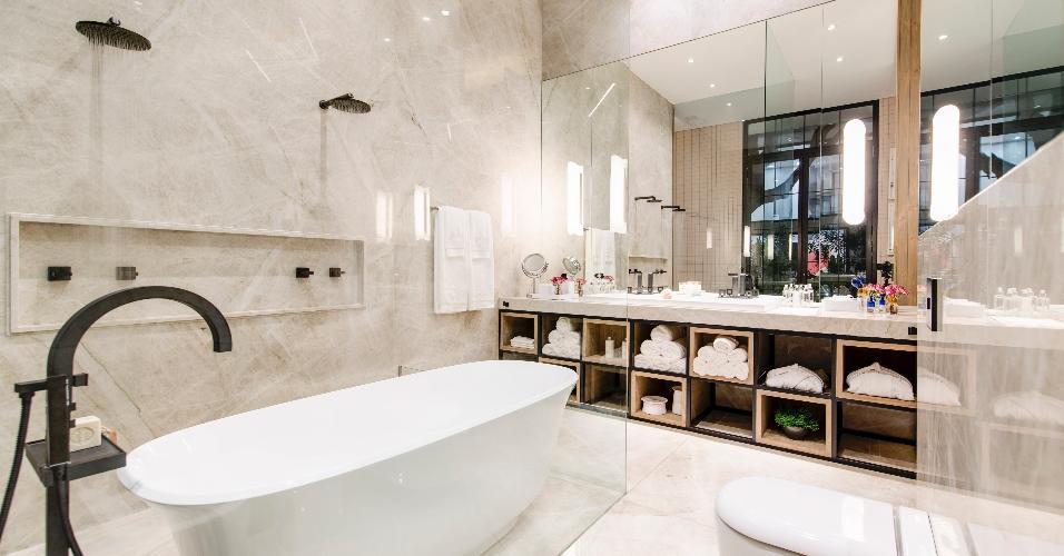 Casa Cor SP 4 banheiros luxuosos e irresistíveis para você se inspirar  BOL -> Banheiros Planejados Sp