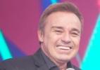 Gugu chora ao ouvir depoimento de fiel escudeiro de Silvio Santos - Edu Moraes/Rede Record