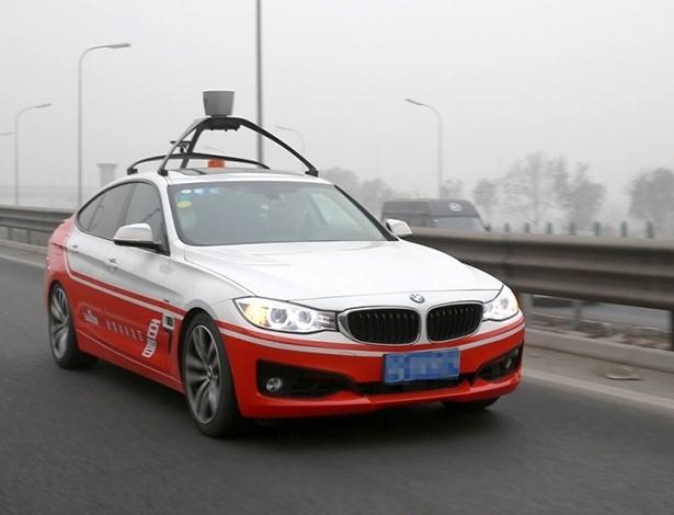 Empresa tem parceria com a BMW e desenvolve este Série 3 GT autônomo na China