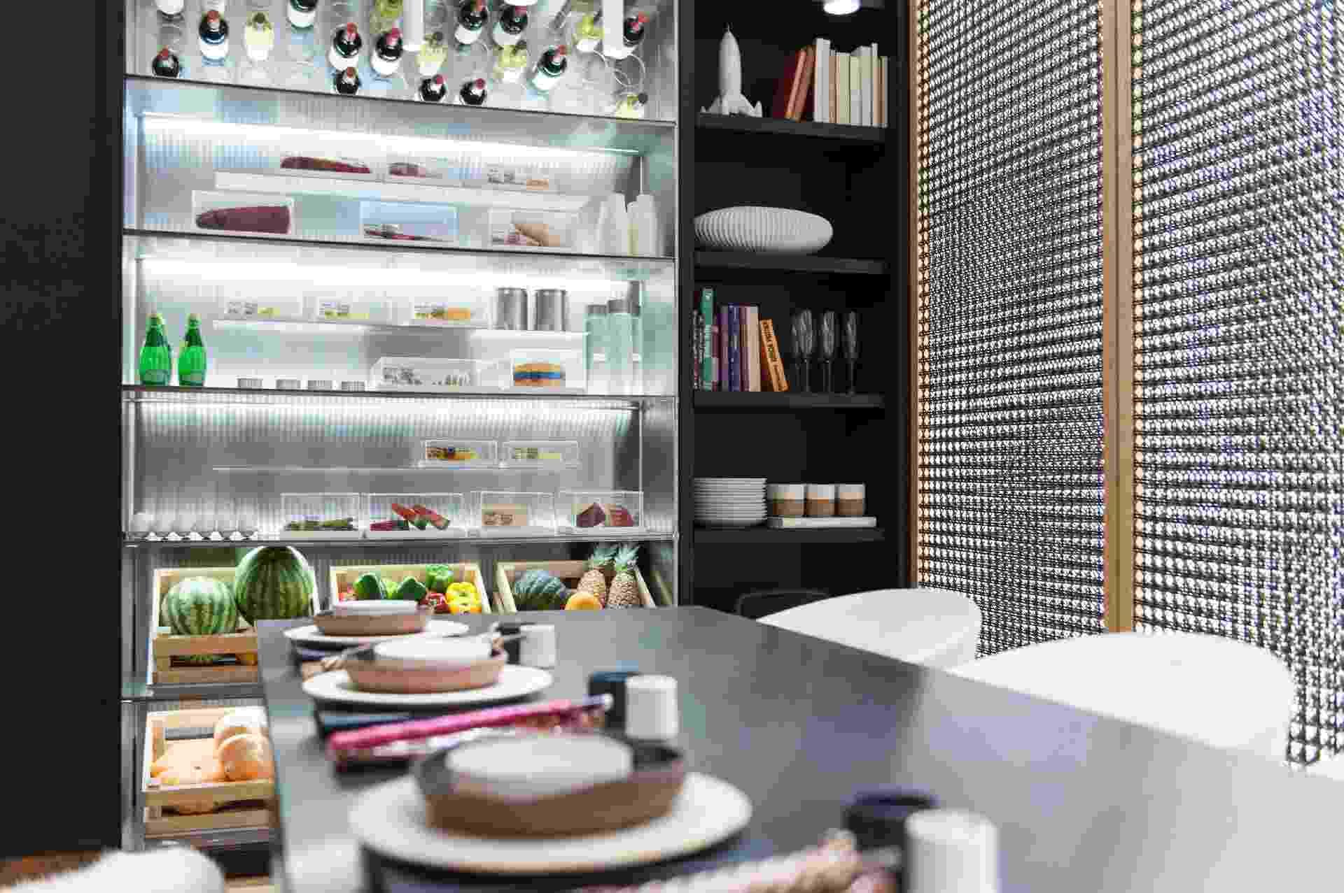 Fotos: Casa Cor SP: 4 cozinhas integradas e futuristas que você vai  #694438 1920 1277