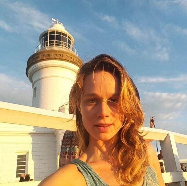 26.dez.2015 - Outra famosa que está passando férias na Austrália é a atriz Mariana Ximenes. Ela compartilhou um clique em Byron Bay com seus seguidores