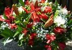 Confira o passo a passo de arranjo floral com espuma vegetal (Foto: BBel )