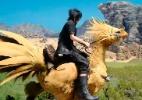 """Chocobos serão meio de transporte e aliados em lutas de """"Final Fantasy XV"""" - Reprodução"""