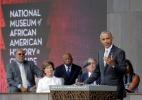"""Obama inaugura museu afro-americano dos EUA ao som """"do sino da liberdade"""" - Joshua Roberts/Reuters"""