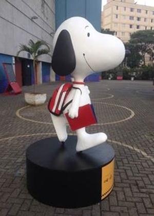 Dez estátuas mostram Snoopy em versão paulistana nas ruas de SP