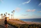 Destino surfista da Califórnia, Huntington Beach tem até praia para cão - Eduardo Vessoni/UOL