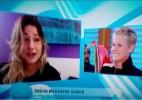 """Em seu programa, Xuxa recebe homenagem de Sasha: """"Te amo muito, mãe"""" - Reprodução /TV Record"""