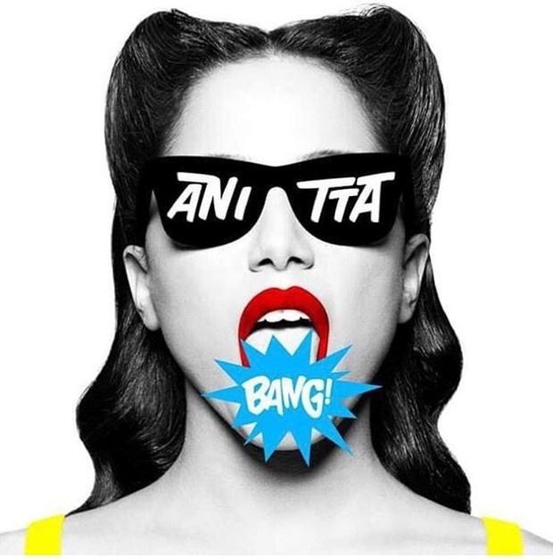 Capa do novo álbum da cantora Anitta, assinada pelo designer Giovanni Bianco