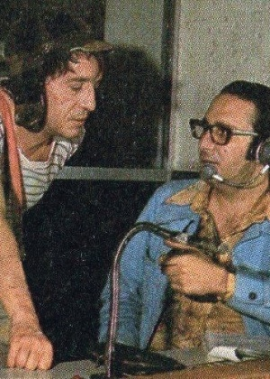 "Enrique Segoviano dirige Roberto Gómez Bolaños em ""Chaves"", nos anos 1970"