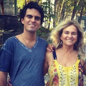 Rian Brito e sua mãe, Brita Brazil