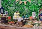 Fã de aventuras, menino escolhe tema acampamento para festa de nove anos - Novaes Neto/Divulgação