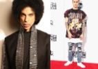Justin Bieber cria polêmica ao questionar homenagem a Prince - Montagem UOL/AP